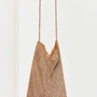 Frasier Sterling After Party Chain Link Crossbody Bag | Urban Outfitters