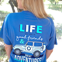 Jadelynn Brooke Jeep Life - Poolside blue - SS