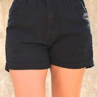 Sweet Sweet Summer Shorts - Black
