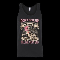 Fairy Tail - DON'T GIVE UP Natsu Dragneel - Unisex Tank Top T Shirt - TL01128TT