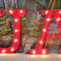 University of Alabama Marquee Letters