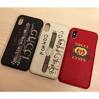 Gucci frosted couple phone shell iPhone X iPhone 8 iPhone 8 plus plus phone case protective sleeve iPhone 6 6s 6plus 6s plus iPhone 7 iPhone F
