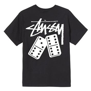 Dominoes T-Shirt Black