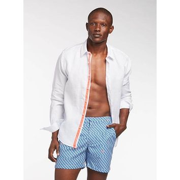 White Peter Linen Shirt (Many Colors Available)