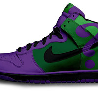 Riddle Nike Dunks by Customs4you on Etsy