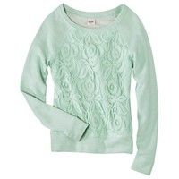 Mossimo Supply Co. Juniors Lace Overlay Top - Assorted Colors