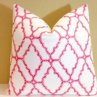 Holiday pillow cover Mulberry Decorative - Throw Pillow Lacefield Kai Slub Mulberry pillow cover
