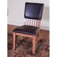 Sunny Designs Sandalwood Chair with Cushion Seat & Back In Sandlewood