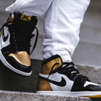 Air Jordan 1 Top3 AJ high-top shoes