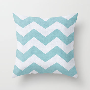 Salt + Water Throw Pillow by The Dreamery