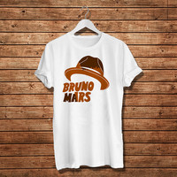 Bruno Mars American-Singer, Hat Bruno, T.shirt Women T-Shirt (Available Various Color)