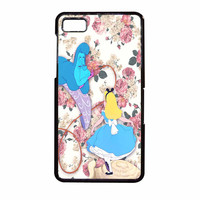 Alice In Wonderland Floral BlackBerry Z10 Case