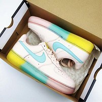 Nike WMN AIR FORCE 1 '07 All-pink Lady's Leisure Shoes