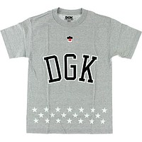 DGK Liberty Tee Small Athletic Heather