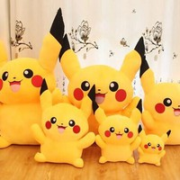 45cm High Quality cute Pokemon Pikachu Plush Toys