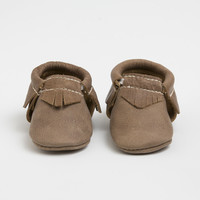 Weathered Brown - Moccasins