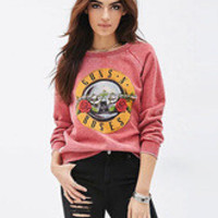 Pink Letters Print Embossed Hooded Coat for Women