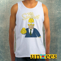 The Simpsons Homer Simpson Clothing Tank Top For Mens
