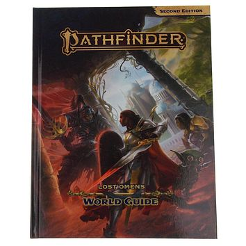 Pathfinder Lost Omens World Guide 2nd Edition RPG Role Playing Game Paizo Book
