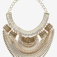 Topshop Mixed Chain Collar Necklace   Nordstrom