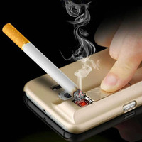 Electronic Cigarette Lighter Case For iPhone 7