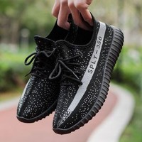 Yeezy Boost 350 V2 Sneakers Breathable Athletic Sports Shoes