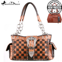 Montana West MW123G-8085 Concealed Carry Handbag