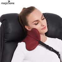 U Shape Travel Pillow For Airplane Multi-function Car Pillow Neck Comfortable Memory Foam Sleeping Pillows For Kids Gray Red