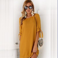 2018 Soild Color Novelty Sexy Maternity Dresses Half Sleeve Pregnancy Dress for Pregnant Women Loose Clothes Winter Autumn