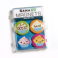 NEW Cupcake Magnets - Set of 4