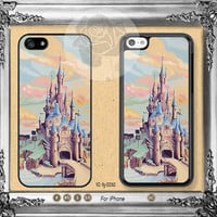 Disney iPhone 5s case, iPhone 5C Case iPhone 5 case, iPhone 4 Case Disney castle iPhone case Phone case ifg-00068