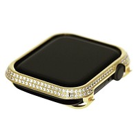 Apple Watch Face 24K Gold Crystal