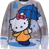 Hello Kitty Raining Crewneck