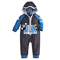 Mickey Mouse Hooded Romper for Baby