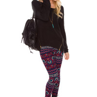 Around The World Leggings
