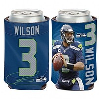 Seattle Seahawks Russell Wilson Can Cooler