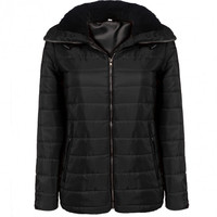 New Fashion Women Casual Quilted Cotton Padded Thick Hooded Jacket Coat