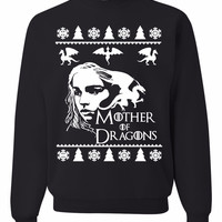 Mother Of Dragons Ugly Christmas Sweater Unisex Sweatshirt