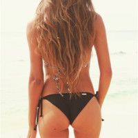 Black Licorice Island Bottom by Surf Style - Surf Style - Brands