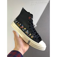 KITH x Disney x Converse Chuck 70 cheap mens and womens Fashion Canvas Flats Sneakers Sport Shoes