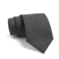 Fulton Tie in Black with White Dots
