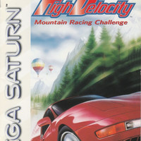 High Velocity Mountain Racing Challenge - Sega Saturn (Ugly Game Only)