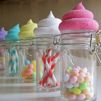 Fake Cupcake Candy Shoppe Baker Swirl by 12LegsCuriosities on Etsy