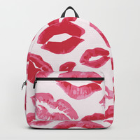 Lipstick Kisses Backpack by allisone