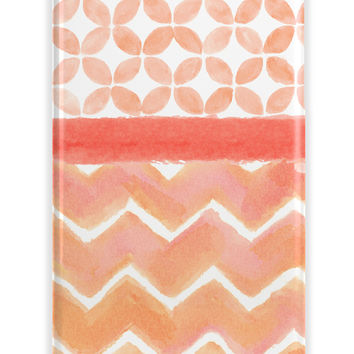 WATERCOLOR CHEVRON ABSTRACT PATTERN - CUSTOMIZABLE IPHONE CASE
