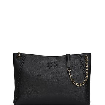 Tory Burch Marion Center-zip Tote