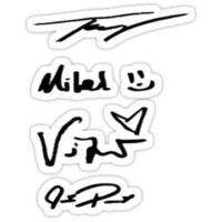 Pierce The Veil Autographs
