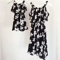 Summer Style Mother Daughter Dresses
