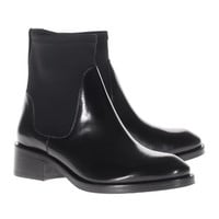 ACNE Comet Black Leder-Boots mit Textil-Schaft - What's new