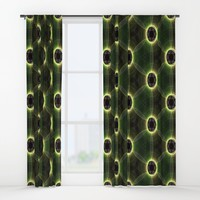 Abtsract Floral Window Curtains by kasseggs